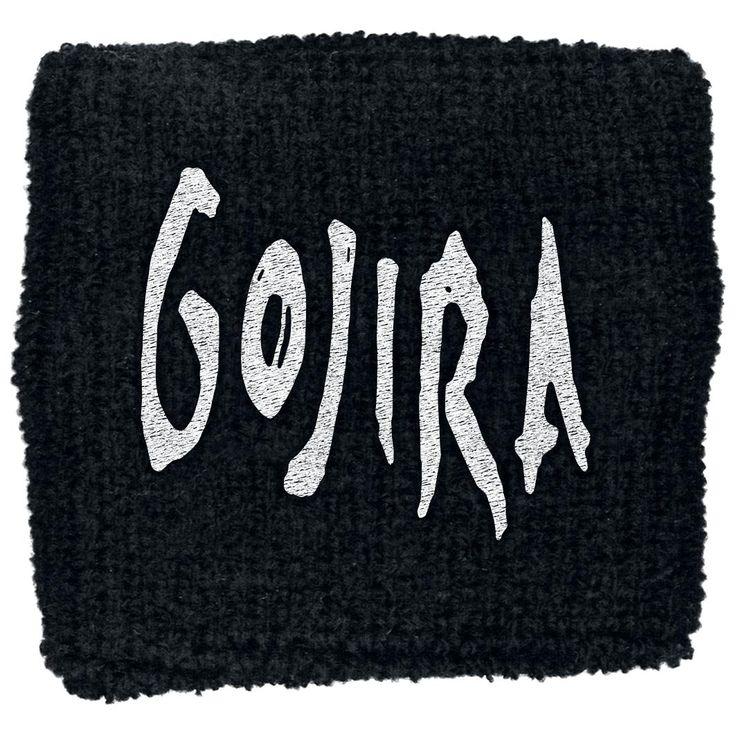 Polsino nero dei #Gojira.