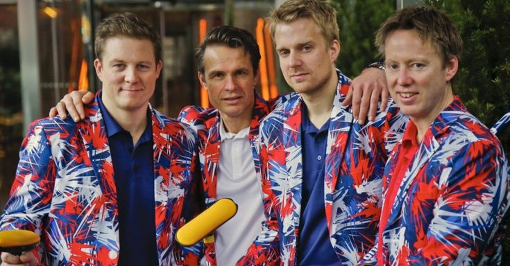 Norway Olympic curling team unveils this year's crazy pants