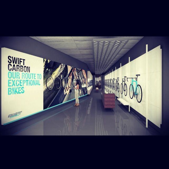 Swift Bicycle Concept Store- Greenpoint. With Frank Böhm Studio