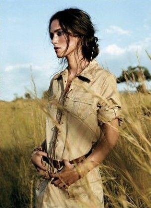 keira knightley by arthur elgort-vogue us july 2007 #travelshopa #fashion #style