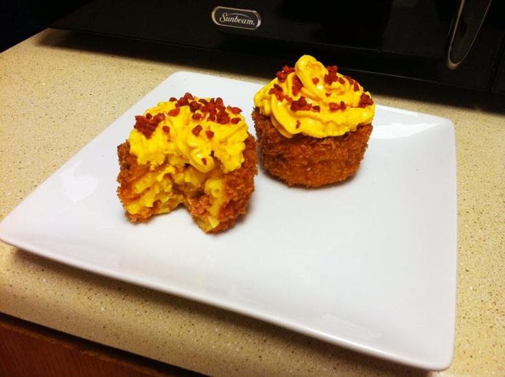 ... Macaroni and Cheese Cupcakes (19 Photos) | Mac cheese, Cheese muffins
