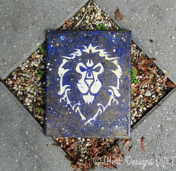 World of Warcraft Alliance Symbol Crest Action by HerkDesigns