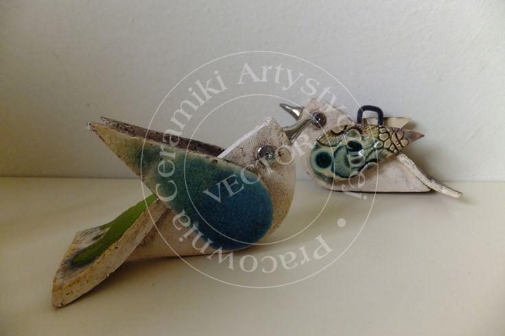 Ptaszki ceramiczne? Ceramic birds