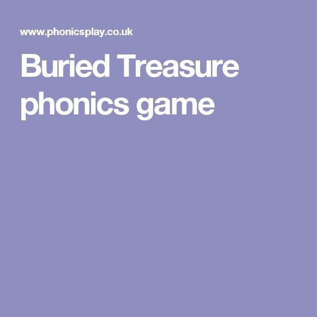 Buried Treasure phonics game