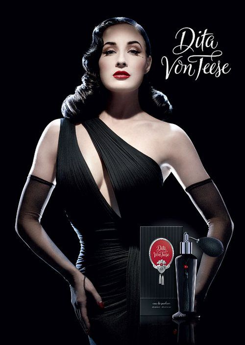 Dita Von Teese perfume--I would love to have this scent for my perfume collection!