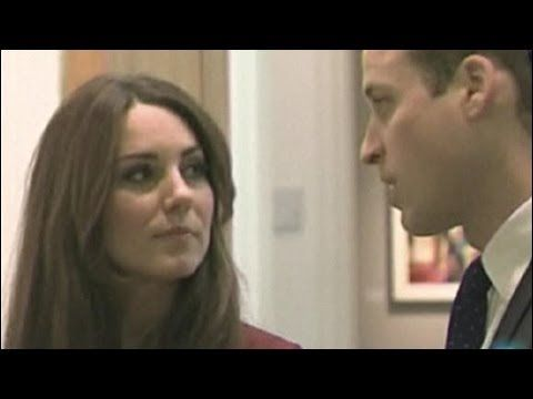 El vestido de novia de Kate Middleton, visto desde cerca - YouTube