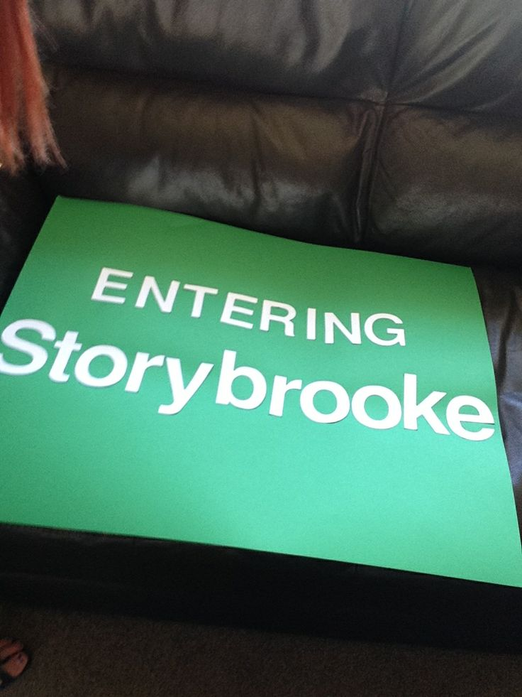 "Entering Storybrooke sign | ""Once Upon a Time"" 21st ..."