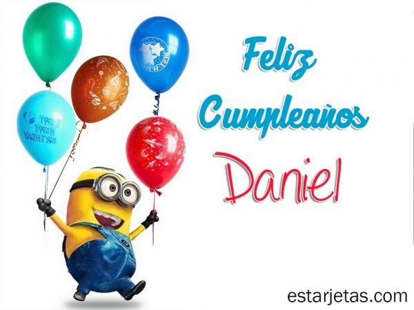 Felíz cumpleaños Daniel 6