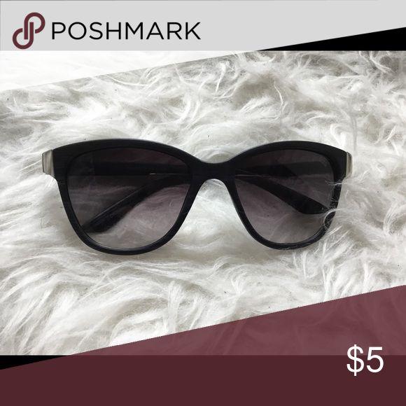 """Club master"" Style Pugs Sunglasses Silver metal detail. Black ""wood"" style plastic frames Accessories Sunglasses"