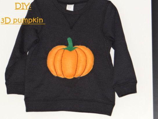 DIY: Pumpkin 3D for kids