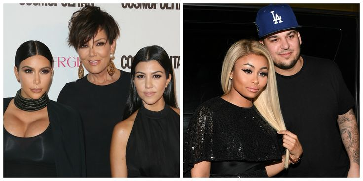 The Kardashians Are Rightfully Upset With Rob After He Posted ~Those~ Pictures of Blac Chyna