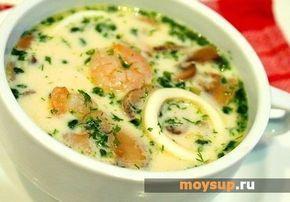 Суп с кальмарами — очень вкусные рецепты для любителей морепродуктов