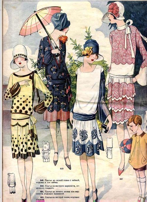 """""""Моды Сезонa""""/Fashions of the Season, 1929                              …"""