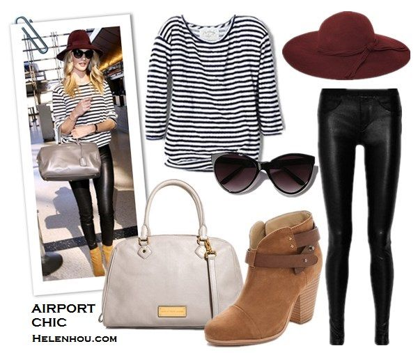 Comfortable Chic Airport Styles