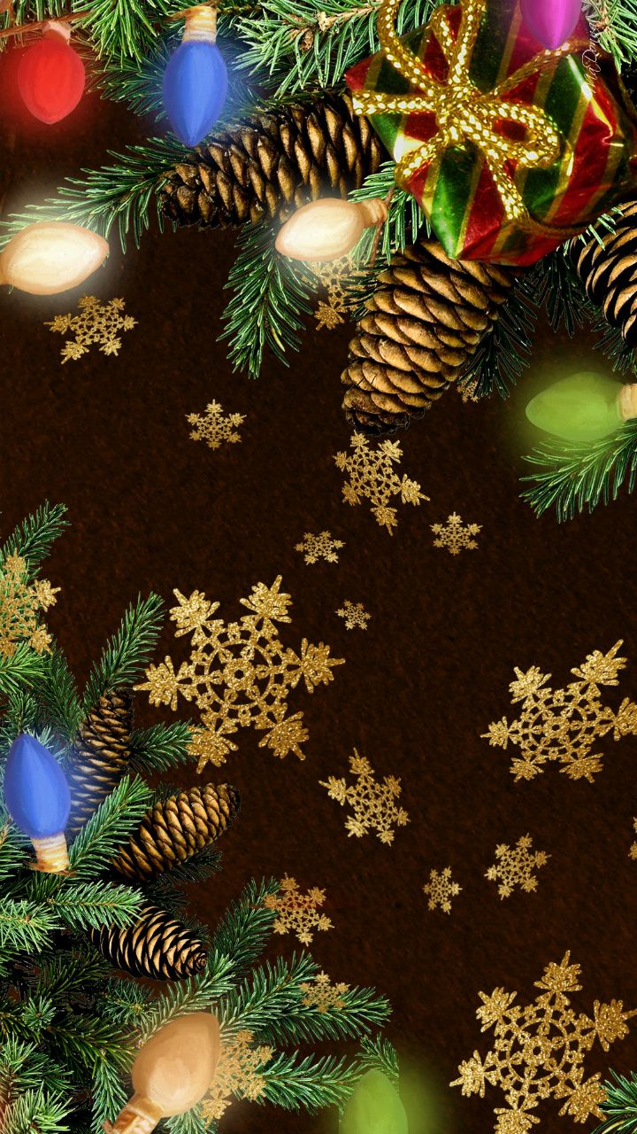 25  best ideas about iphone wallpaper christmas on