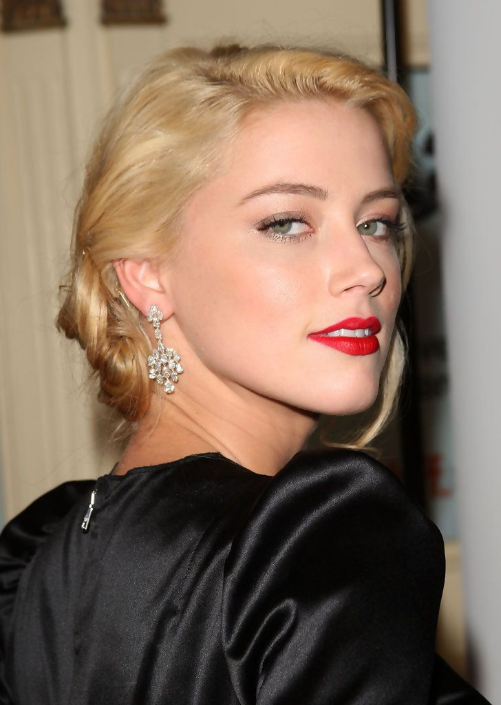 Chic Amber Heard ...Fashionable Hairstyles ...