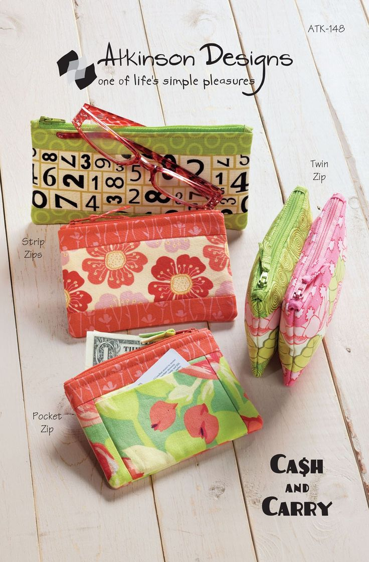 Cash and Carry sewing pattern by Atkinson Designs - Bloomerie Fabrics - Patterns