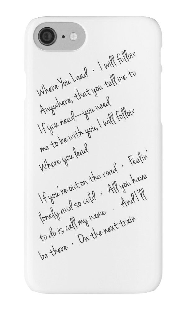Gilmore Girls theme song words, iPhone case, black and white, lettering, hand lettering, fashion, trendy, tv show fans, white, Rory, Lorelai, Luke