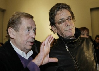 Vaclav Havel & Lou Reed