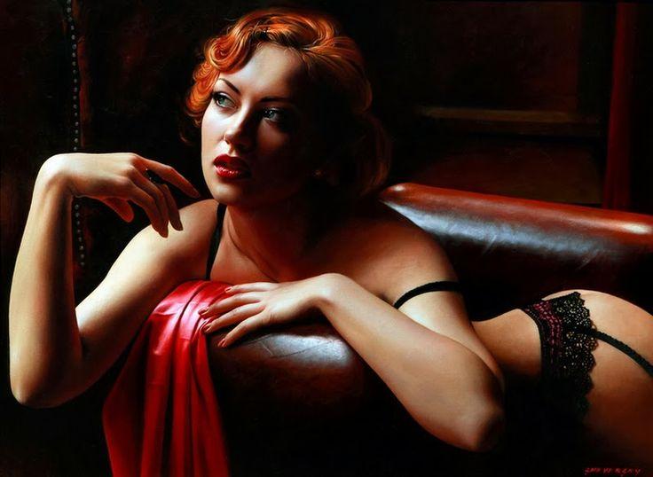 D.W.C. Wonderful Woman - Painter Alexander Sheversky