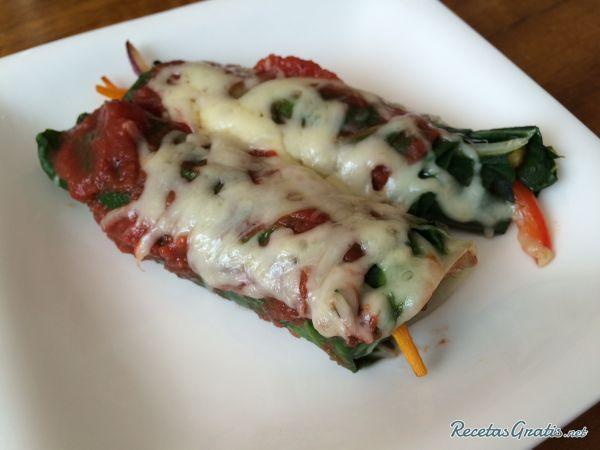Canelones de verduras para celíacos #RecetasGratis #RecetasdeCocina #RecetasLigeras #RecetasLight #Dieta #OperaciónBikini #PerderPeso #ComidaSaludable #Verduras