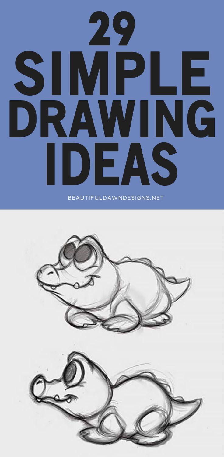 20 Easy Sketch Ideas Beginners Can Draw   Beautiful Dawn Designs ...