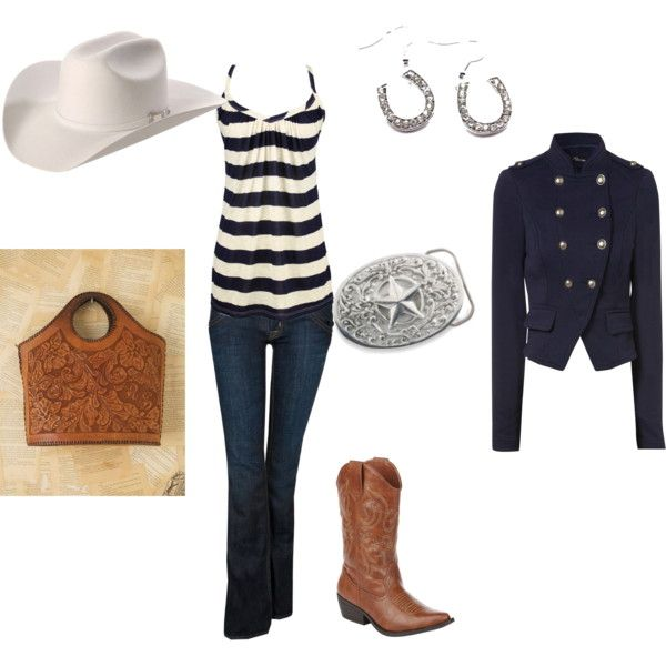 Stampede Outfit, created by kellie-horn