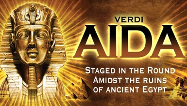 Great 360 degrees mise-en-scène of Verdi's Aida at the Royal Albert Hall this March...loved it! Opera makes my heart skip beats! :)