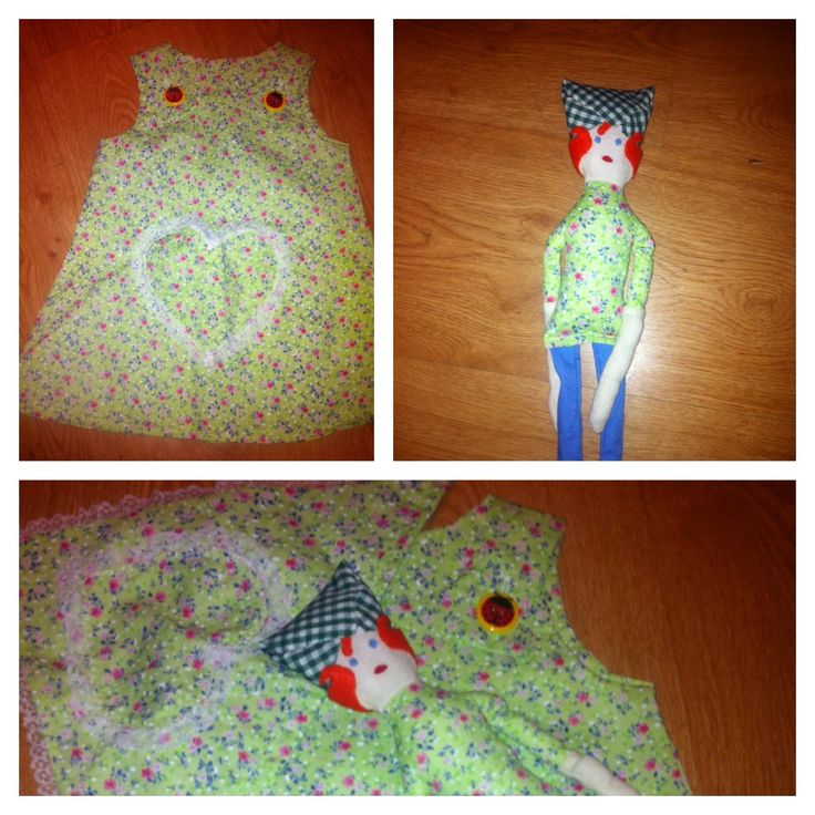 For Leia , little dress, matching head scarf and doll to match - @mollie wren Makes #MollieMakes