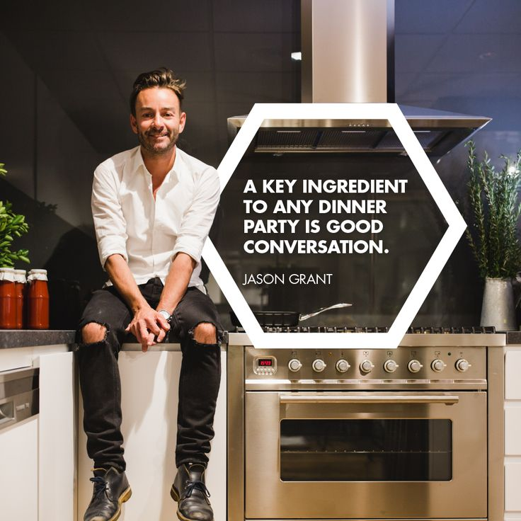 """Add a healthy serving of good conversation to a table of close friends and you've got yourself a dinner to remember.""""  Wise words from ILVENISTA Jason Grant"""