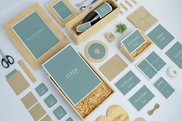Check out Wedding Branding Mock-Ups by Kongkow on Creative Market