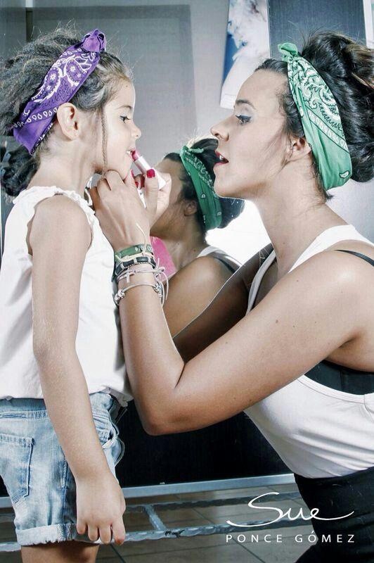 Peluquería: Laura Gomez Fotografía: Sue Ponce Maquillaje: Celeste Serrano