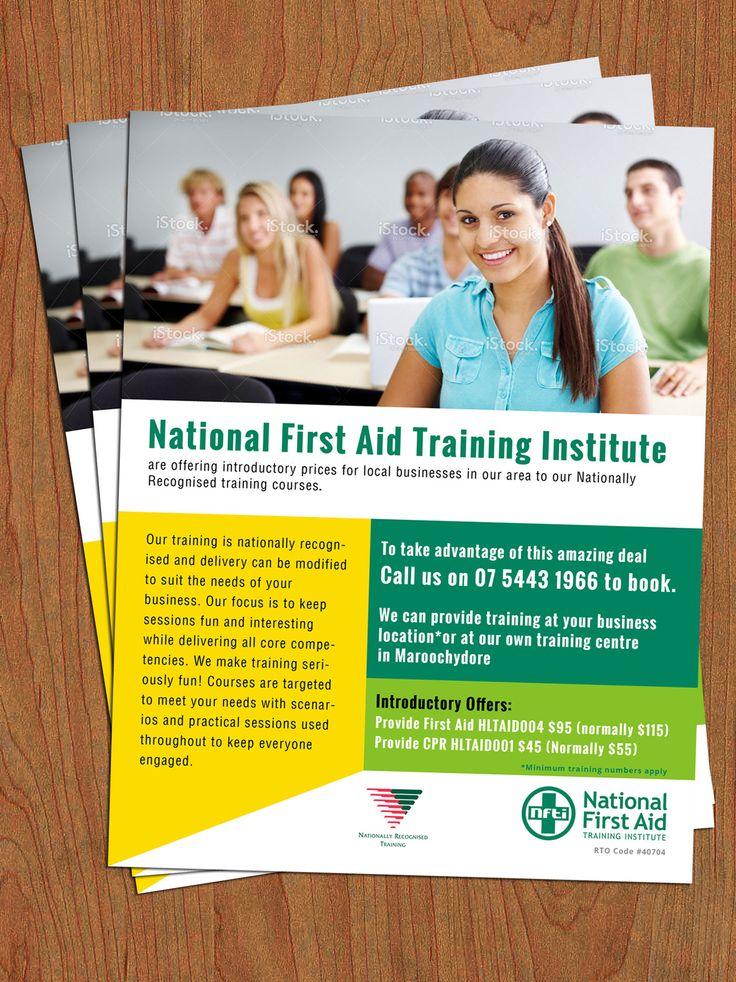 brochure design for training institute - Towerssconstruction