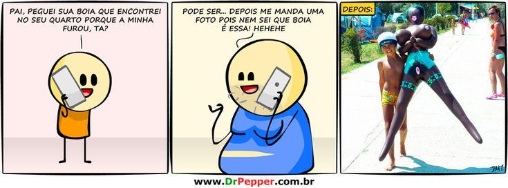 DrPepper.com.br - Página 2 de 167 - Piadas ruins é que são boas!