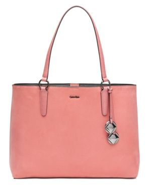 Calvin Klein Reese Extra-Large Tote - Pink