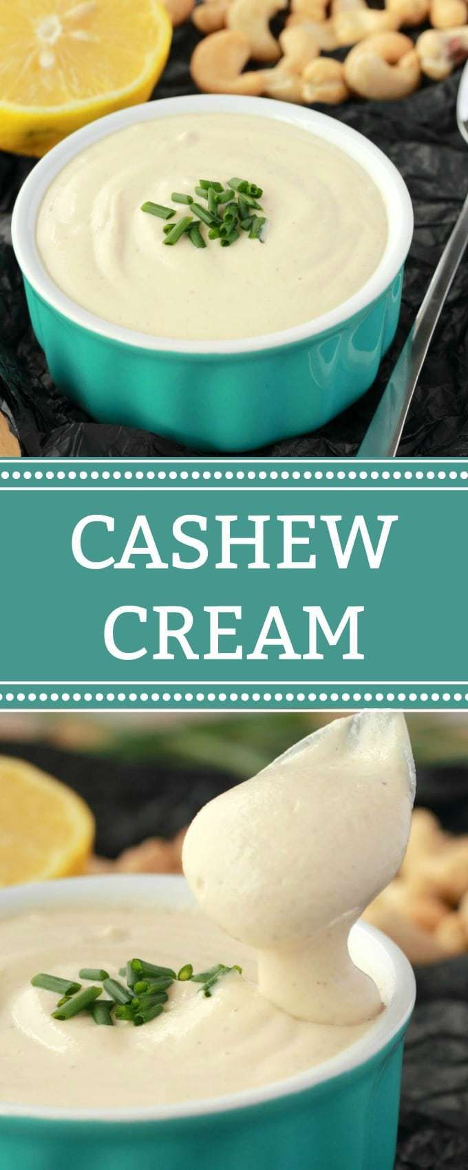 This Creamy And Delicious 4 Ingredient Simple Vegan Cashew