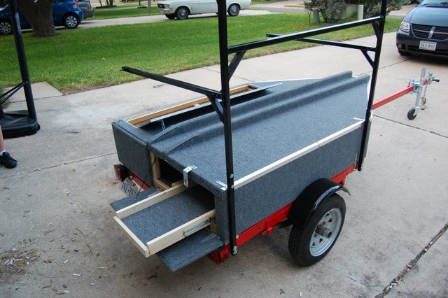 This looks like what I want to make for our trailer. I'll have to adapt it for 2 big and 2 small kayaks.