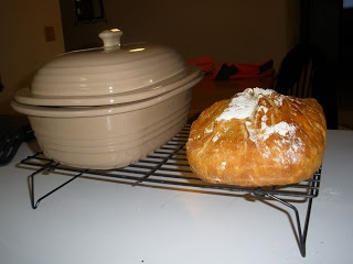not cool enough: Artisan Bread ~~~ Amazing easy artisan bread made in Pampered Chef deep dish covered baker.