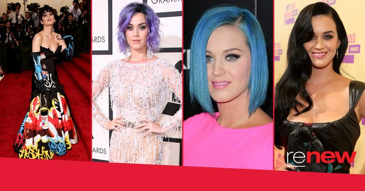 We're all about hair and our latest hair crush is the one and only, Katy Perry! Look at our favourite Katy hair moments and tell us which one you love.