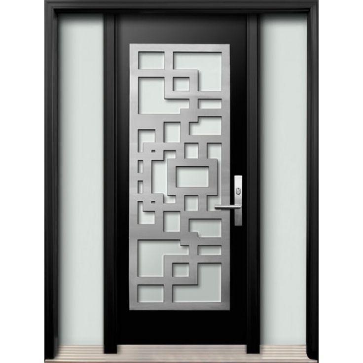 full glass exterior door. DoorShoppers com  Fiberglass exterior door two full glass sidelites Diagano series The 25 best Exterior fiberglass doors ideas on Pinterest Entry
