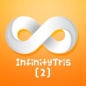 Color fun: InfinityTris II     Color rotation play is made awesome with this game. Get ready for the next evolution in multi-direction puzzle games! You have to race against time and prevent the blocks from stacking up!