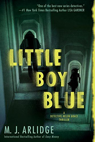 Scary thriller books to read for fall, including Little Boy Blue by M. J. Arlidge.