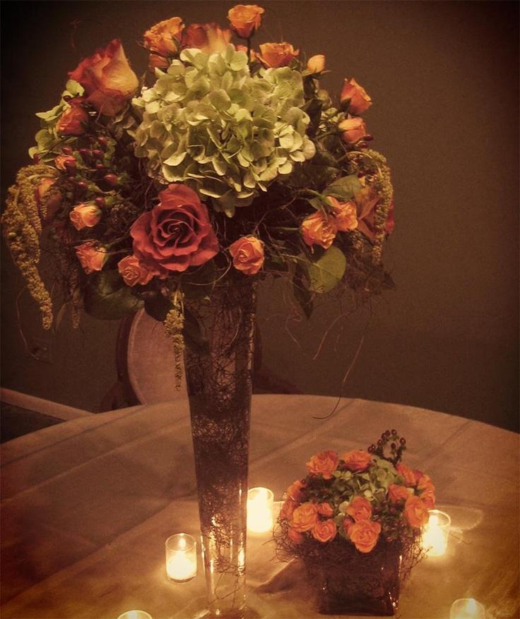 Unique Wedding Centerpieces: Lovely #martini Glass #centerpiece