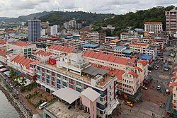Sandakan town centre