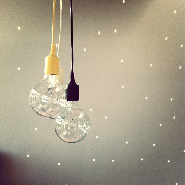 #e27 #muuto #pendant #black #yellow Pinned from #webstagram, photo by @hpetre