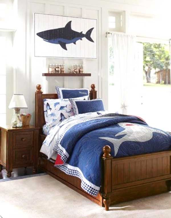 letto-con-piumone-squalo