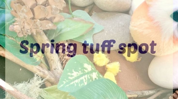 I LOVE a tuff spot activity! I'm forever looking for new ideas and inspiration on Pinterest, Instagram and blogs I follow. I often use the tuff spot at home with Little Bee, both in the garde…