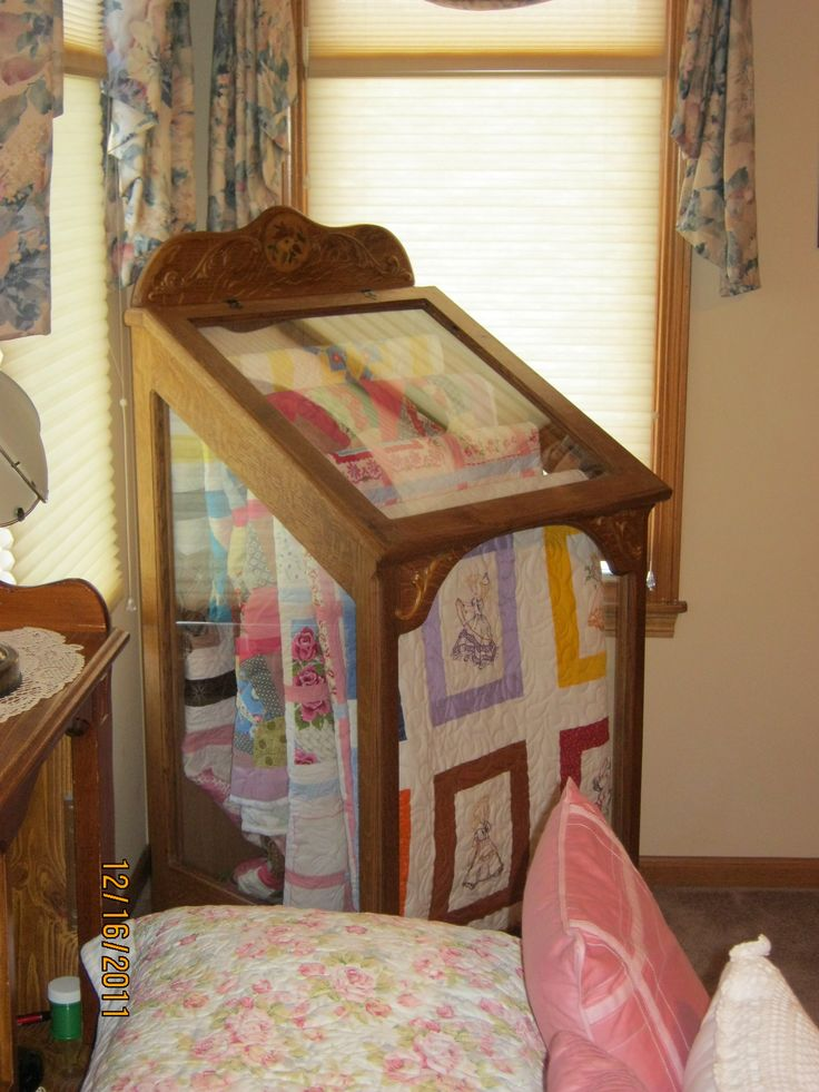 18 best quilt display case cabinets images on pinterest