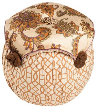 Salmagundi  Moroccan Tuffet transitional ottomans and cubes