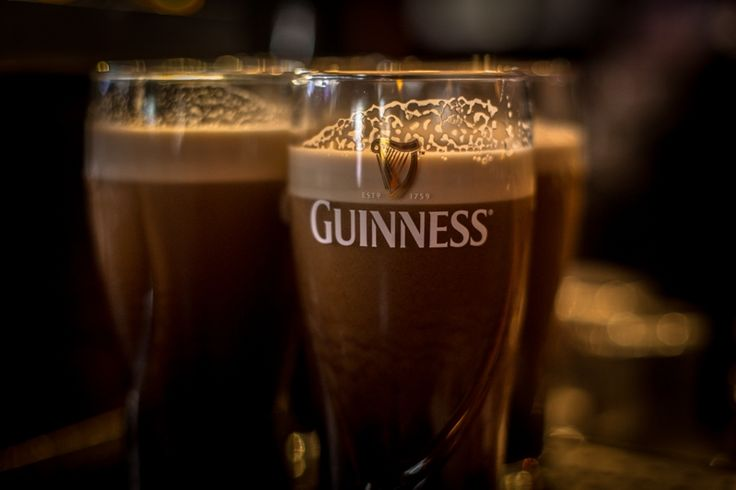 The most popular alcoholic drink in Ireland. It takes 119.5 seconds to pour the perfect pint of Guinness but...